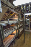 bunk beds in an old submarine sailors