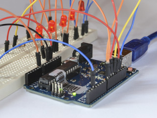 Arduino electronic platform for hobbyists