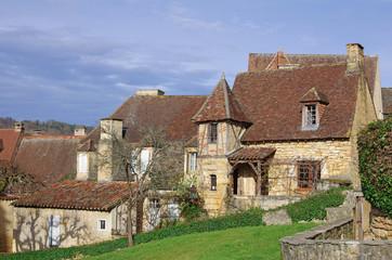 Village de Sarlat-la-canéda en Périgord noir