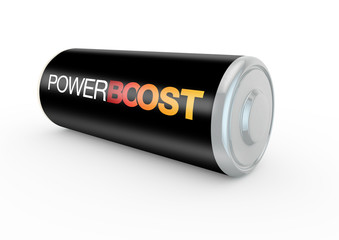 power boost on a battery