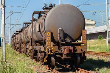 Train Tanker Trailers