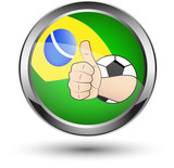 Brazil thumb up icon