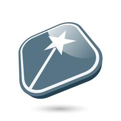 zaubern symbol zeichen modern zauberstab
