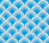 blue vector fish scales