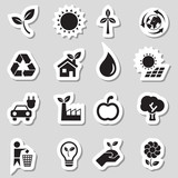 Ecology Icons as Labes