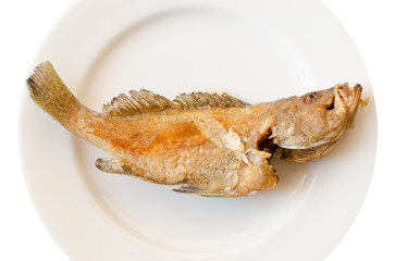 Deep fried fish