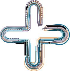 font illustration symbol