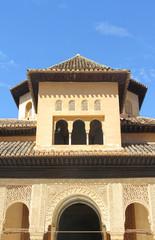 Alhambra palace in Granada