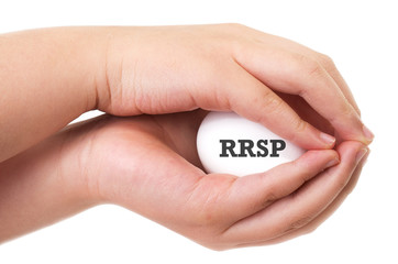 Canadian Registered Retirement Savings Plan concept