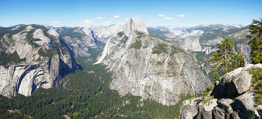 Yosemite valley with Half Dome, Yosemite NP, California, USA