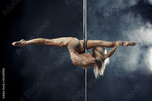 Canvas Luchtsport pole dance