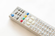 A remote control on a white background