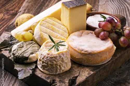 In de dag Zuivelproducten Käseplatte