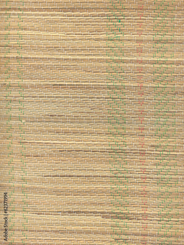 Straw Beach Mat