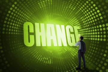 Change against green pixel spiral
