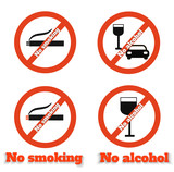 No smoking no alcohol