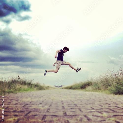 man jumping - 62372754