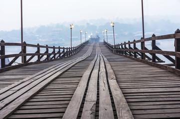 Broken Bridge in Sangkhlaburi