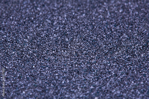Sheet of black sandpaper