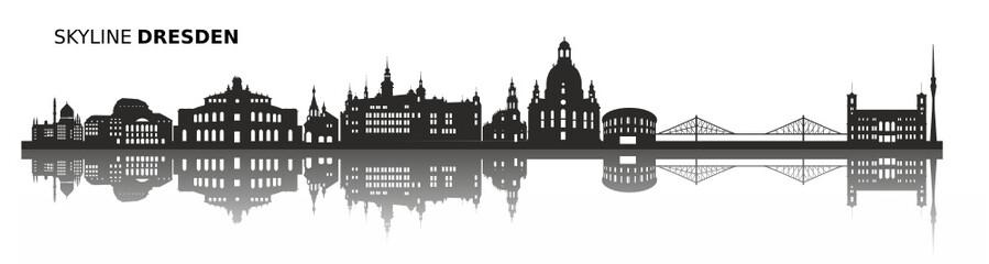 Skyline Dresden Sachsen