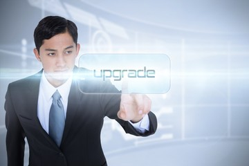 Upgrade against futuristic technology interface