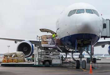 loading cago