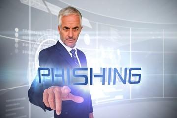 Phishing against futuristic technology interface