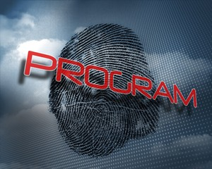 Program against fingerprint in sky