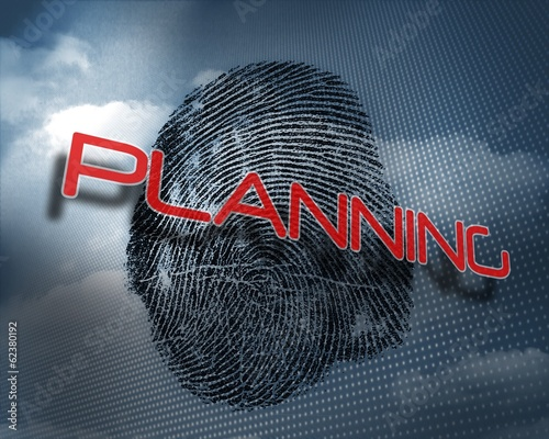Planning against fingerprint in sky