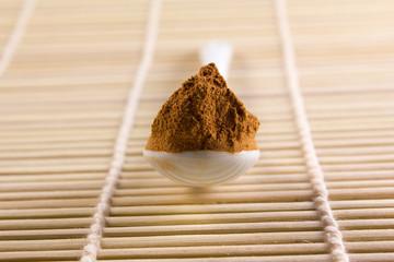 spoon with guarana close