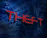Theft against digital circuit board