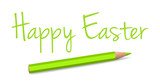 vector handwritten easter greeting