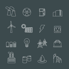 Energy power industry design elements