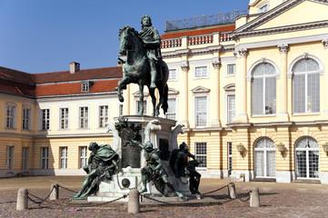 Reiterstandbild des Großen Kurfürsten Schloss Charlottenburg