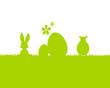 Osterhase, Ei und Lamm