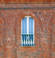 Balcony in Italian old house