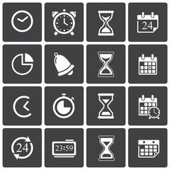 Time Icons & Simbols.