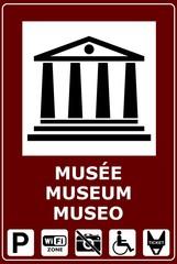 CARTELLO SEGNALE MUSEO