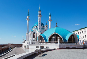 Kul Sharif mosque in Kremlin. Kazan. Russia.