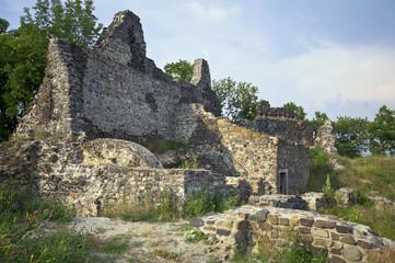 Ruins of Tatika castle, wide
