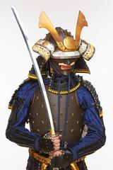 Samurai in armor