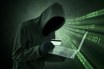 Internet Theft Concept