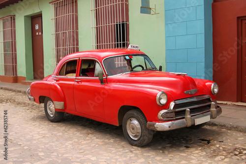 Cuban taxi - 62385744