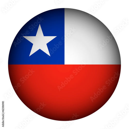 Chile flag button.