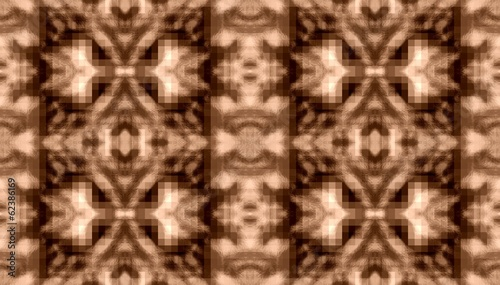 striped ornamental seamless pattern - vintage look