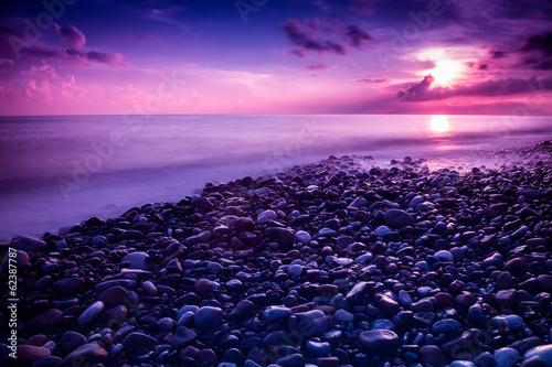 Fotobehang Zonsondergang Sunrise in Sicily