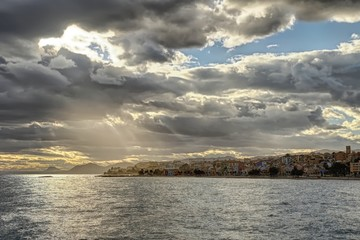 HDR image of Villajoyosa in Spain