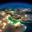 Night Earth. Persian Gulf - 62388138
