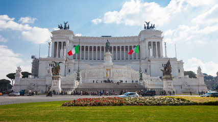 The National Monument to Vittoriano