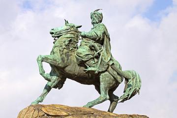 Monument of Bohdan Khmelnytsky in Kyiv, Ukraine